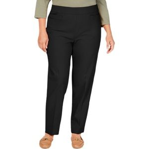 Alfred Dunner Classic Allure Tummy Control Pants